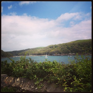 the view in fowey